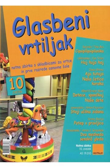 GLASBENI VRTILJAK (# 10) - (Teacher's magazine)