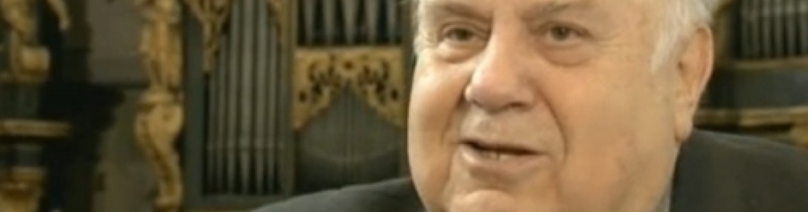TV - Regens chori - dr. Mirko Cuderman, 80 years