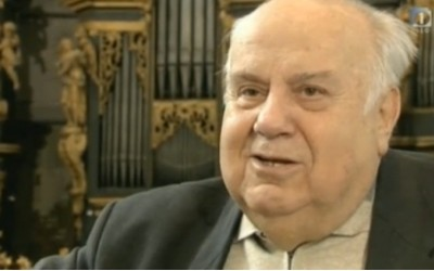 TV - Regens chori - dr. Mirko Cuderman, 80 years