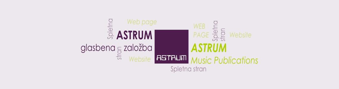 Redesigning www.astrum.si Website