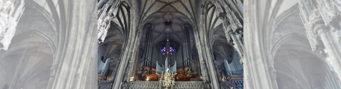 New big organ: St. Stephan's cathedral / Stephansdom, Vienna, Austria