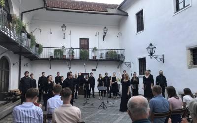 Vokalna akademija Ljubljana - First Postcorona Concert