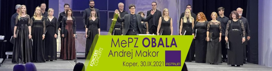 FESTIVAL CONCERT- Mixed Choir OBALA, Koper, Slovenia at the 14th International Choir Festival Koper