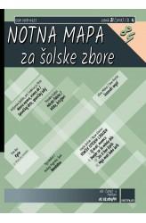 NOTNA MAPA ZA ŠOLSKE ZBORE (# 84) - (Teacher's magazine)