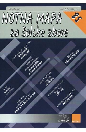 NOTNA MAPA ZA ŠOLSKE ZBORE (# 85) - (Teacher's magazine)