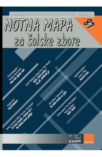 NOTNA MAPA ZA ŠOLSKE ZBORE (# 87) - (Teacher's magazine)