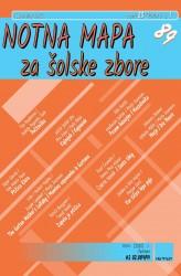 NOTNA MAPA ZA ŠOLSKE ZBORE (# 89) - (Teacher's magazine)