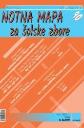 NOTNA MAPA ZA ŠOLSKE ZBORE (# 90) - (Teacher's magazine)