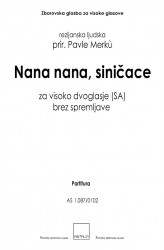 Nana nana, siničace [Hush, Hush, Little Boy]