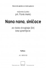 Nana nana, siničace [Hush, Hush, Little Boy]