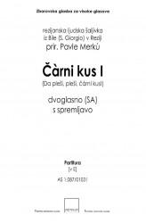 Čàrni kus I [The Blackbird I] - in E