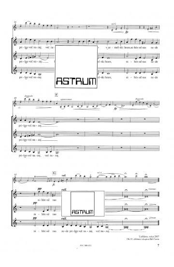 Zrejlo je žito [The Grain Is Ripe] - SSA+Violin