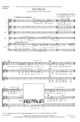 Eno drevce mi je zraslo [One Little Tree Has Grown For Me] - SSA - Choral Score