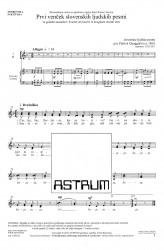 Prvi venček slovenskih ljudskih pesmi - CS - (First Garland of Slovene Folksongs)