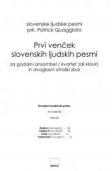Prvi venček slovenskih ljudskih pesmi - FSoIP - (First Garland of Slovene Folksongs)