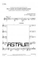 Prvi venček slovenskih ljudskih pesmi - Violin II - (First Garland of Slovene Folksongs)