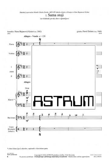 SPREMENIVA SVET [Let's Change the World] - Full Score with Instruments
