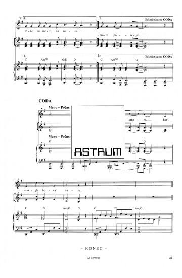 SPREMENIVA SVET [Let's Change the World] - Vocal Score