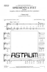 SPREMENIVA SVET [Let's Change the World] - Choral Score