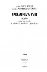 SPREMENIVA SVET [Let's Change the World] - Violin