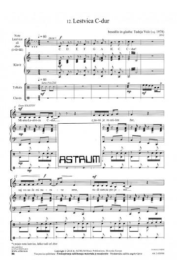 KRALJESTVO GLASBE [KINGDOM OF MUSIC]  (Score-Ensemble)