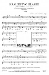 KRALJESTVO GLASBE [KINGDOM OF MUSIC]  (Choral Score)