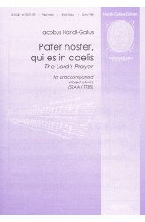 Pater noster, qui es in caelis / The Lord's Prayer (OG 085)