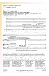 Pange lingua gloriosi, op. 5/8 & Nobis datus, op. 5/9