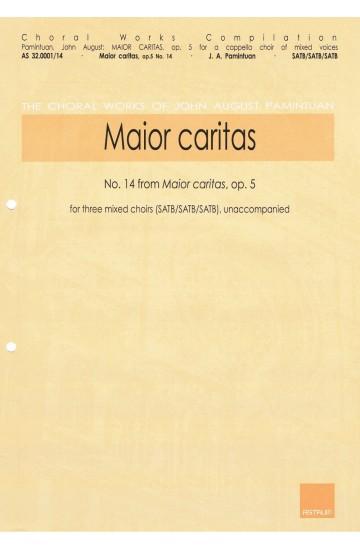Maior caritas, op. 5/14