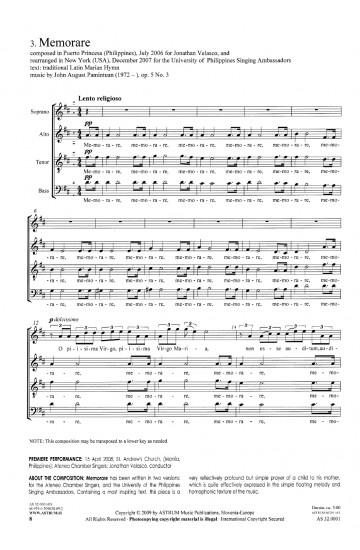 MAIOR CARITAS, op. 5 (Complete Score)