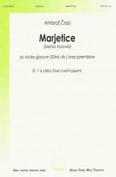 Marjetice [Daisies] SSAAdiv