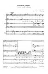 Petelinček je zapieu (The Rooster Sang) - SATBdiv