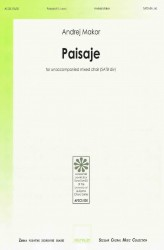 Paisaje [Landscape] - SATBdiv