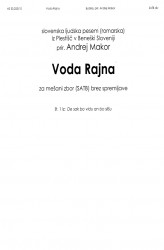 Voda Rajna (The Rhine Water)