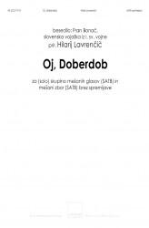 Oj, Doberdob (Oh, Doberdob)