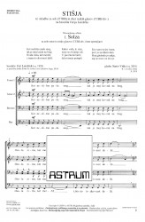STIŠJA (Tranquility) - TTBB (Choral Score)