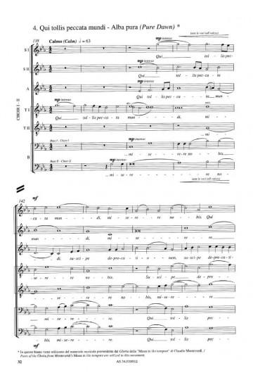 """Gloria (from """"Missa Lorca"""")"""