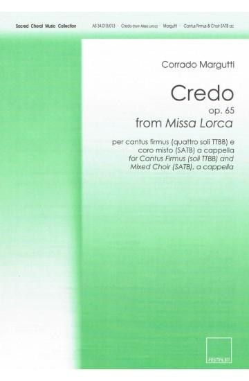 "Credo (from ""Missa Lorca"")"