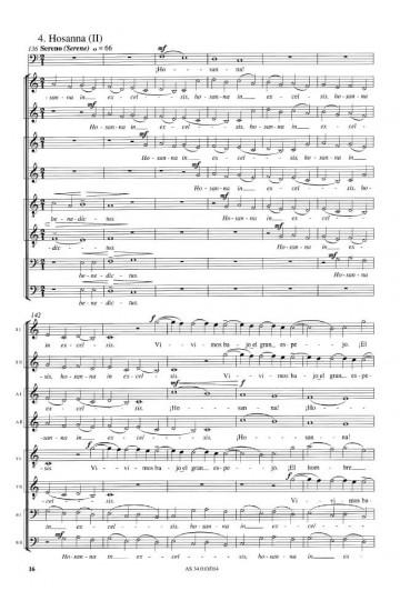"Sanctus (from ""Missa Lorca"")"