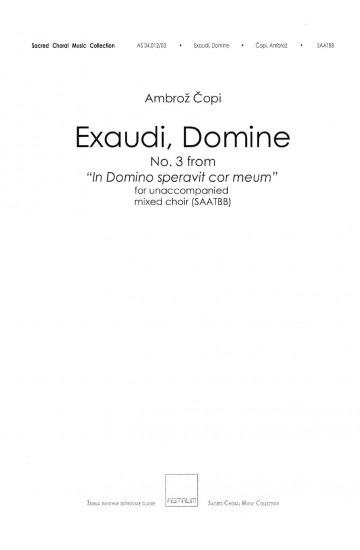 Exaudi, Domine (SAATBB)