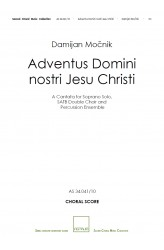 Adventus Domini nostri Iesu Christi (Choral Score)