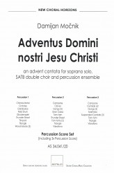 Adventus Domini nostri Iesu Christi (Percussion Score Set)