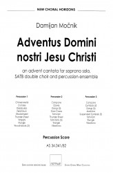 Adventus Domini nostri Iesu Christi (Percussion Part)