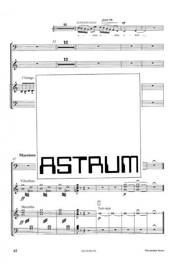Adventus Domini nostri Iesu Christi (Percussion Part)