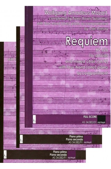 REQUIEM - Full Set of Instrumental Parts