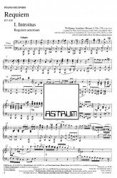REQUIEM - Piano Four-hands Part [individual purchase]