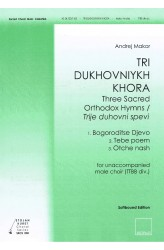 TRI DUKHOVNIYKH KHORA (TTBBdiv) - Choral Score