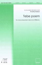 Tebe poem (TTBB)