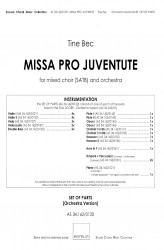 MISSA PRO JUVENTUTE - Orchestra (SATB) Full Set of Parts