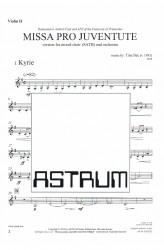 MISSA PRO JUVENTUTE - Orchestra (SATB) Violin II